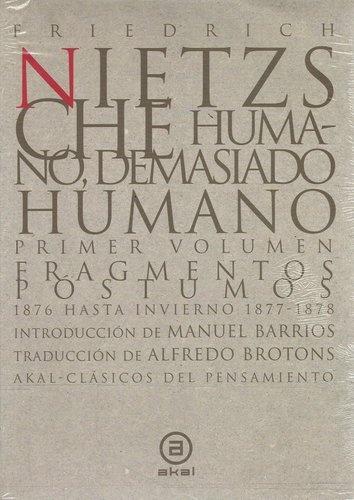 80012-DEMASIADO-HUMANO-2-VOLS-HUMANO-9788446007364