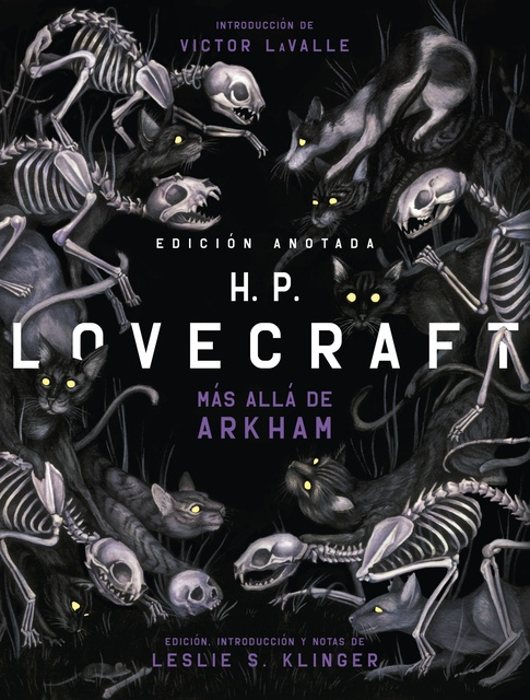 97393-HP-LOVECRAFT-ANOTADO-MAS-ALLA-DE-ARKHAM-NUEVO-9788446049937