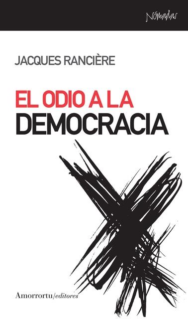 37892-EL-ODIO-A-LA-DEMOCRACIA-9788461090112