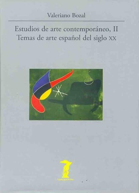 41142-ESTUDIOS-ARTE-CONTEMPORANEO-II-9788477746812