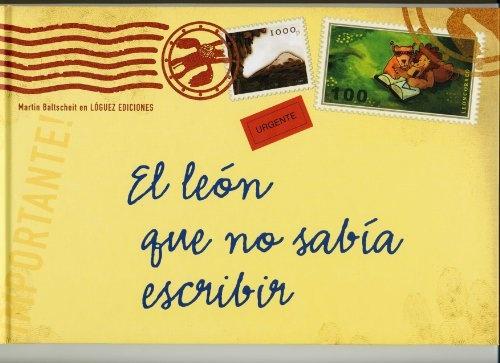 38275-EL-LEON-QUE-NO-SABIA-ESCRIBIR-9788496646032